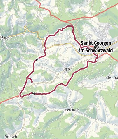 Map / Heimatpfad um St. Georgen