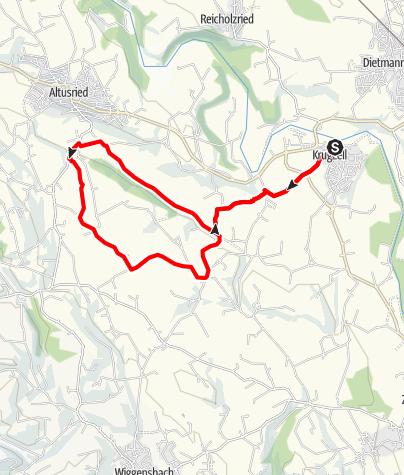 Karte / Wanderweg Stigis - Naturlehrpfad