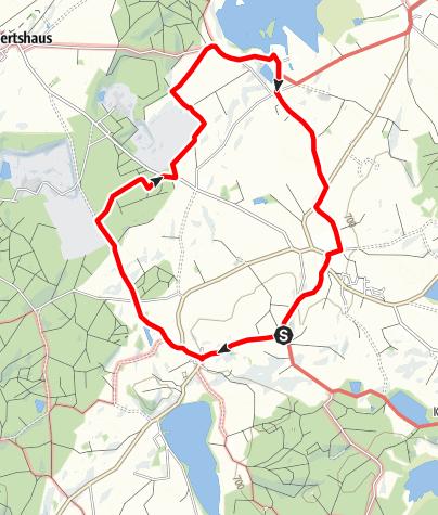 Karte / Bad Wurzach - Von Eintürnenberg an den Rohrsee