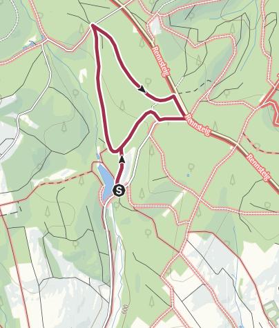 Karte / Windheimer Naturlehrpfad