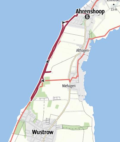 Karte Ostseeküste Deutsch.Die Steilküste Des Weststrandes Bei Ahrenshoop An Der Ostsee