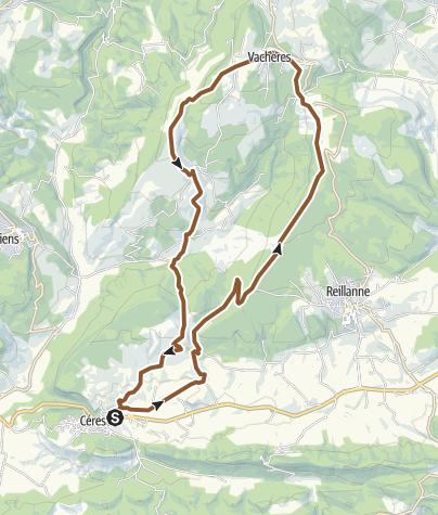 Map / Prieuré de Carluc - Vachères