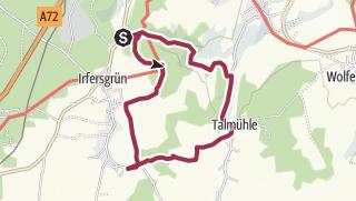 Mapa / Kurzwanderung zwischen Loch- und Talmühle