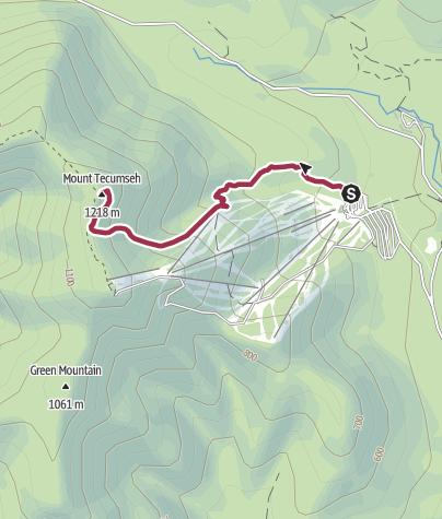 Map / Mt Tecumchem