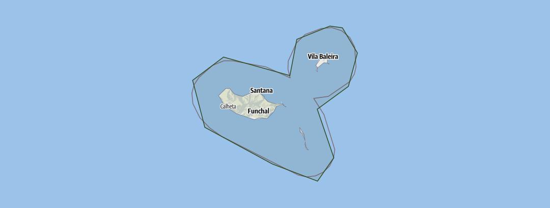 Karte / Madeira