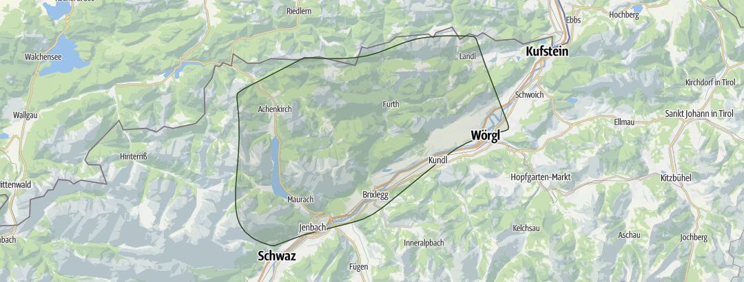 Karte / Achensee