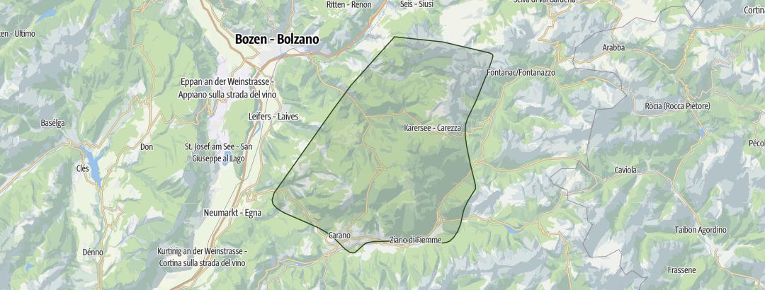 Karte / Dolomiten 2