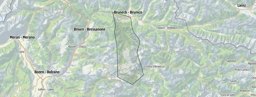 Karte / Dolomiten 3