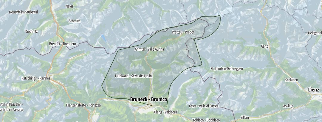 Karte / Tauferer Ahrntal