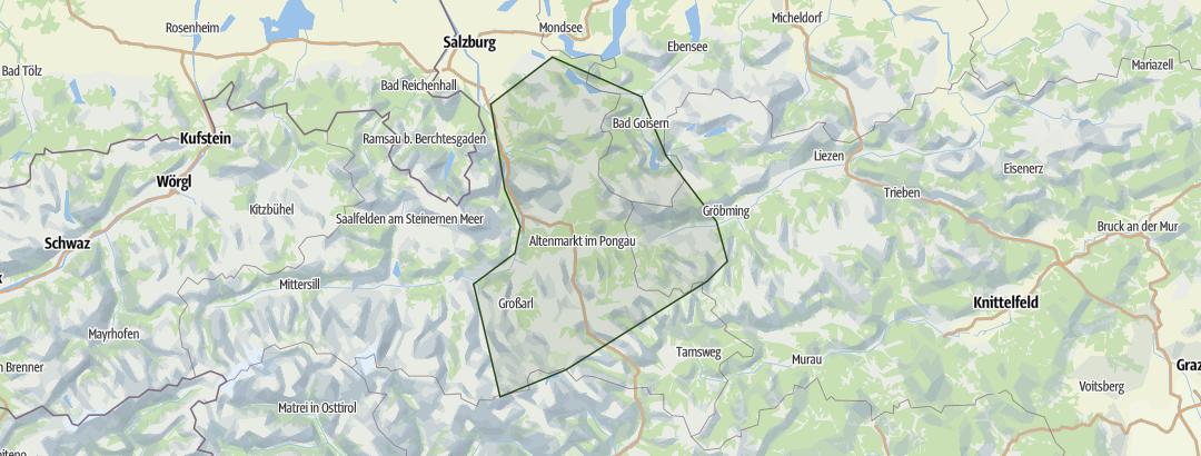 Karte / Dachstein-Tauern
