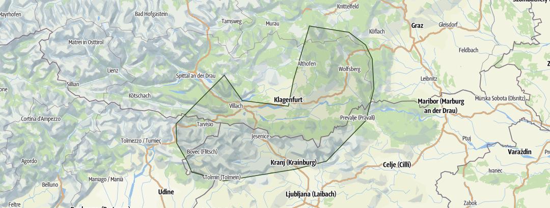 Karte / Kärnten Süd