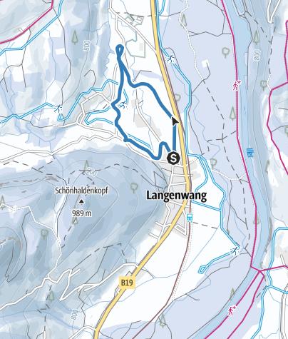 Map / Langenwanger Loipe - Langlaufen in Fischen