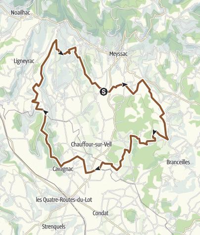 Carte / Tour de meyssac 1