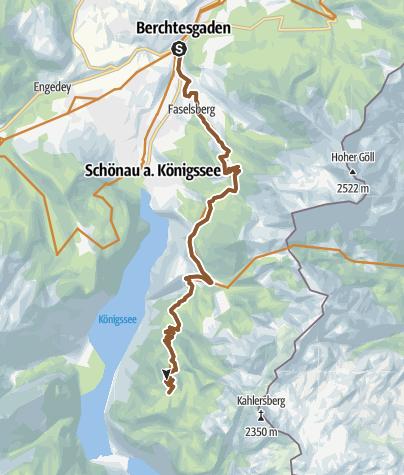 Karte / MTB: 09 - Gotzenalm