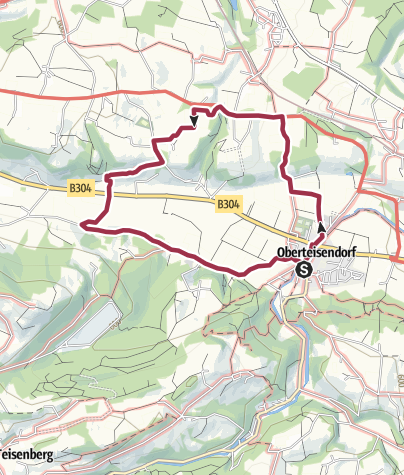 Karte / Panorama-Weg Teisendorf