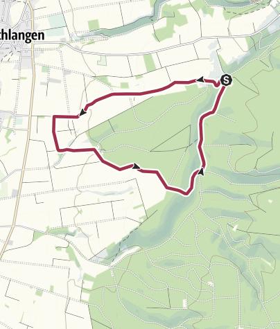Kaart / KlimaErlebnisRoute 3: Lippspringer Wald