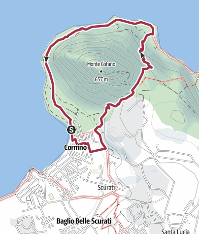 Karte / Monte Cofano (PA)