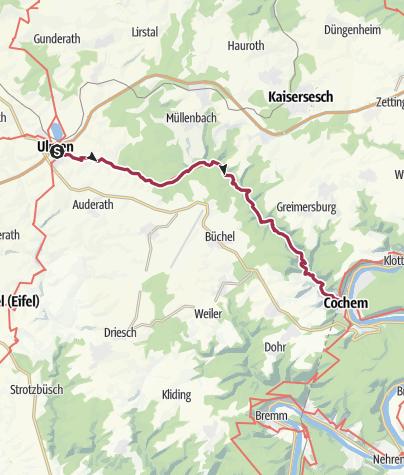 Karte / Tal der wilden Endert