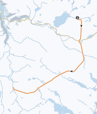Karte / Kjeldebu - Hadlaskard