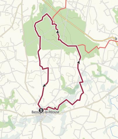 Map / Le grand tour de Villecartier