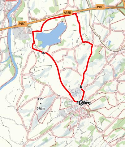 Karte /  9 - Kapellen- und Weiler-Tour bei Sulzberg