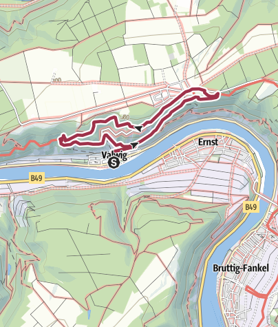 Karte / Der Apolloweg in Valwig