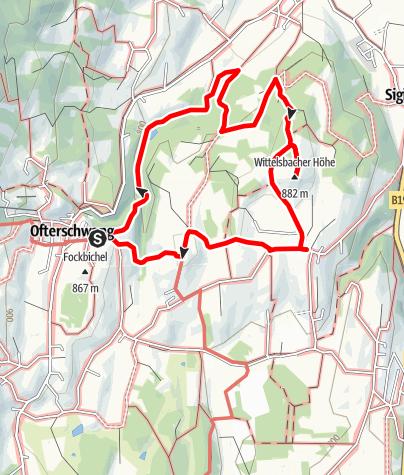Karte / Wittelsbacher-Rundwanderung ab Ofterschwang