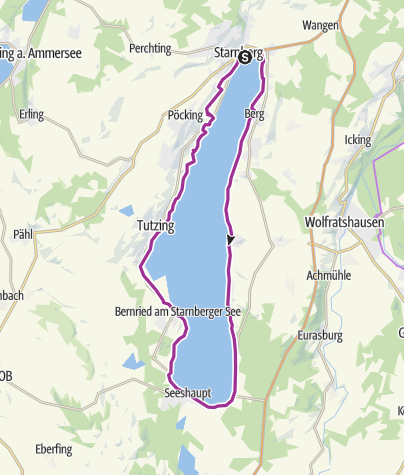 Karte / Rund um den Starnberger See