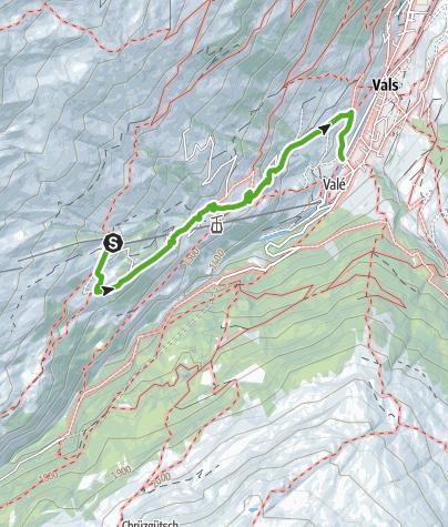 Map / Gadastatt - Moos -Leis - Vals