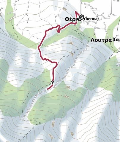 מפה / Tsivdogianni Canyon