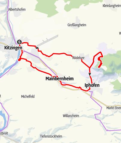 Karte / Schwanberg-Tour