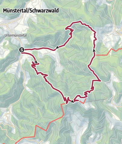 Karte / Belchen - Wanderung zum König des Schwarzwaldes