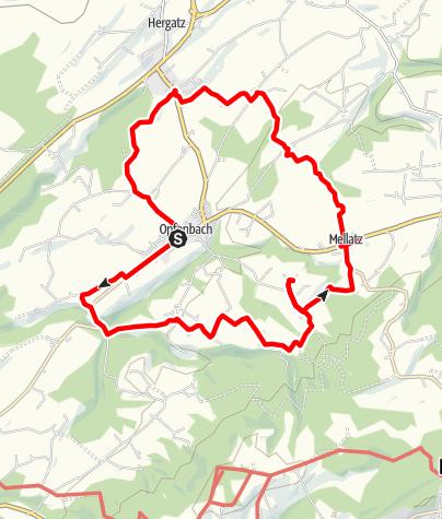 Karte / Opfenbach R2 Kapellenwanderweg