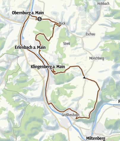 Karte / Weinbergtour
