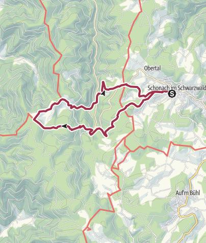 Map / Schonach - Zum Rohrhardsberg