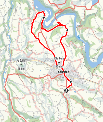 Karte / Wanderweg Fischers - Kalden