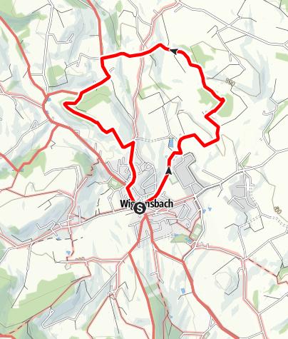 Karte / Moos - Wanderung