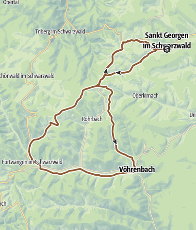 Map / St. Georgen - Genusstour (2)