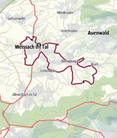 Karte / Eine biotopische Angelegenheit - Weissach im Tal