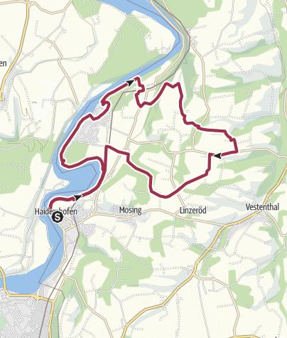 Map / Burgweg
