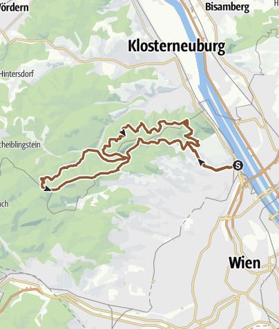 Karte / Sonntags Männer Ausflug