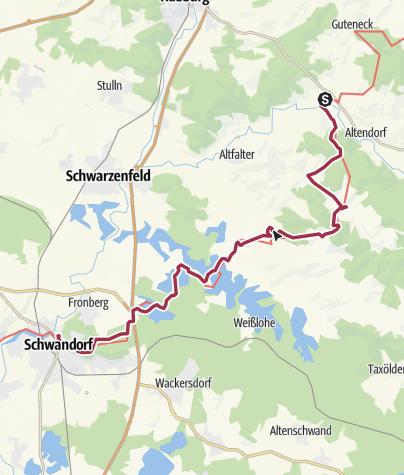 Karte / Willhof Schwandorf