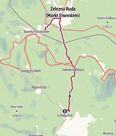 Karte / Der alte Kaufmannsweg