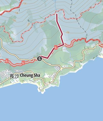 Map / 青龍澗(中段)