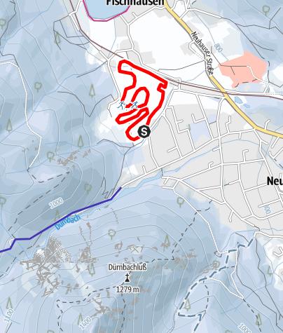 Karte / Fischhausen-Loipe