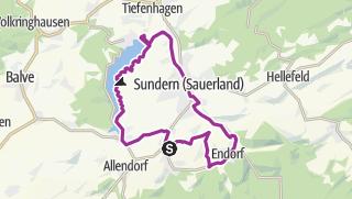Map / Sauerländer Siebengebirge