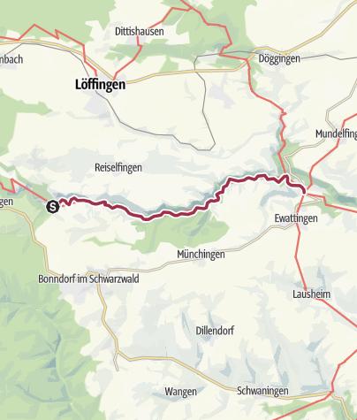 Karte / Hochschwarzwald - Wutachschlucht