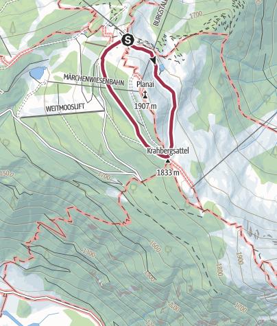 Mapa / Planai Panorama-Rundweg
