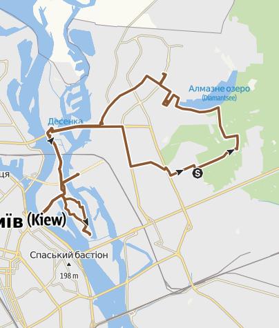 Map / Postmodern First BikeParty 09.07.2016