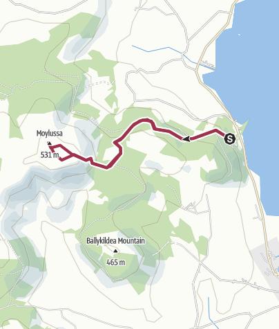 Map / Moylussa Mountain